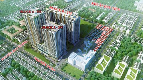 Ra mắt 27 căn biệt thự siêu sang mặt đường Nguyễn Huy Tưởng - Hà Nội - 1