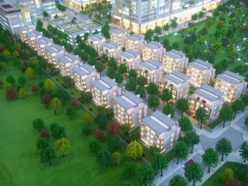 Ra mắt 27 căn biệt thự siêu sang mặt đường Nguyễn Huy Tưởng - Hà Nội - 3