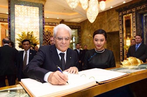 Khách sạn lộng lẫy nhất SG đón vị khách đặc biệt từ Ý - 2