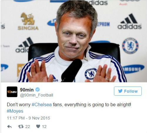 """Mourinho hết đặc biệt, Moyes thành """"Người được chọn"""" - 4"""