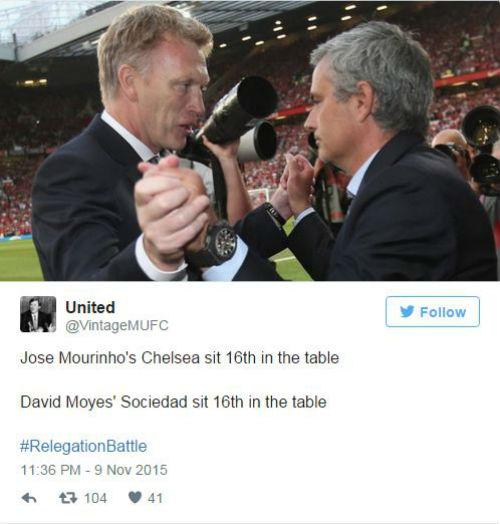 """Mourinho hết đặc biệt, Moyes thành """"Người được chọn"""" - 7"""