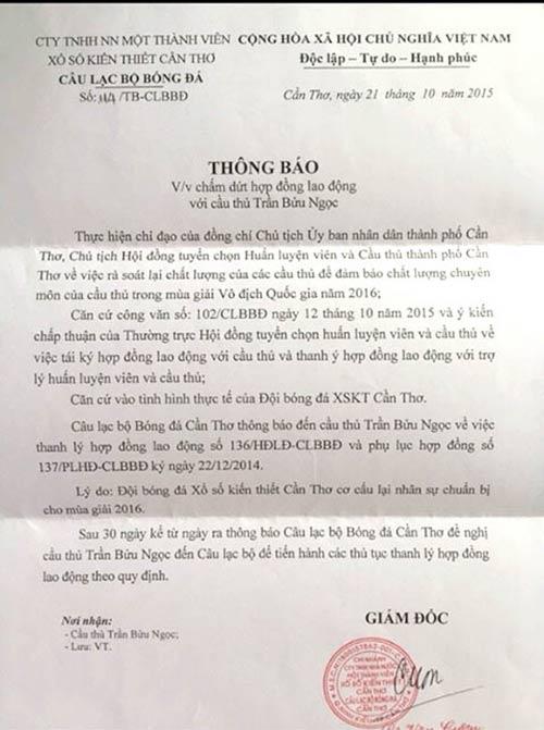 Bi hài thủ môn ĐT Việt Nam bị sa thải do lỗi đánh máy - 1