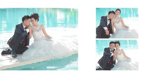 Bộ ảnh cưới siêu dễ thương của Tú Vi - Văn Anh - 11