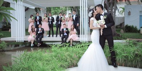 Bộ ảnh cưới siêu dễ thương của Tú Vi - Văn Anh - 9