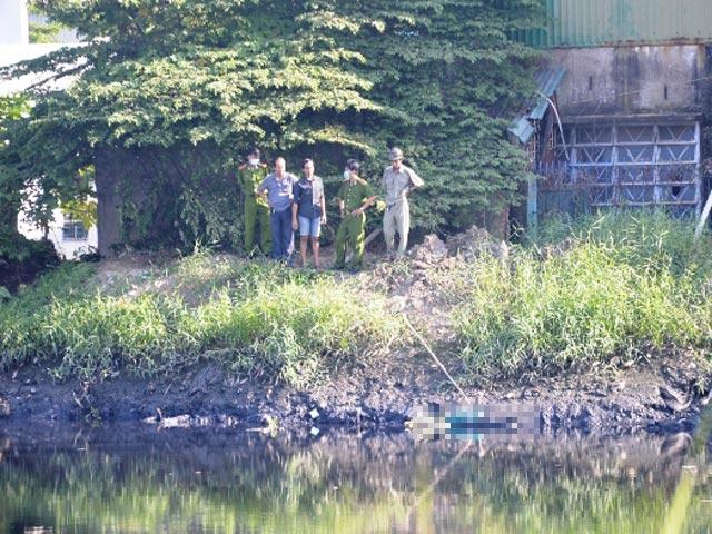 Thanh niên chết bí ẩn dưới kênh sau cuộc nhậu - 1