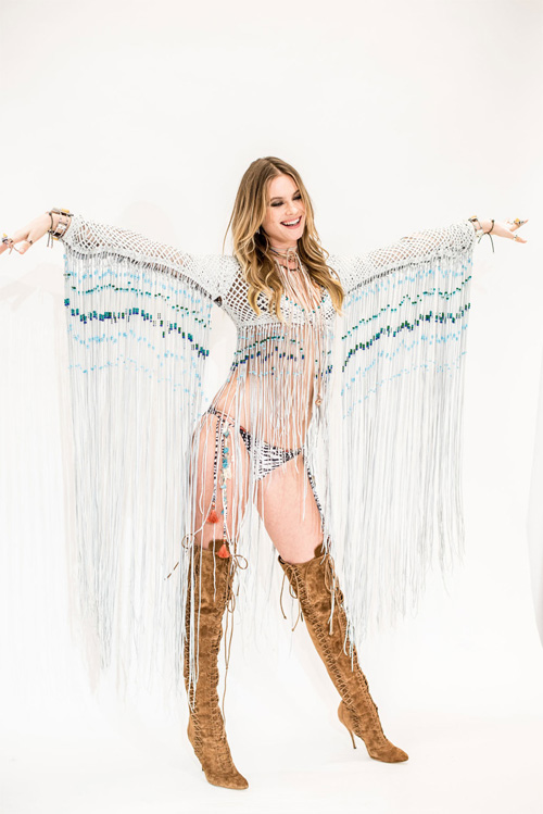Thiên thần nội y thử đồ lót và cánh trước show diễn - 11