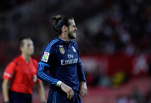 Bale ra sân, tỷ lệ thua trận của Real tăng vọt - 1