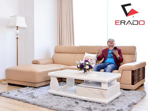 Hé lộ bộ ghế sofa ERADO có tính năng massage đầu tiên - 1