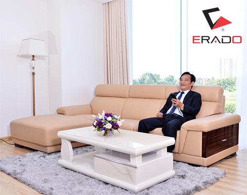 Hé lộ bộ ghế sofa ERADO có tính năng massage đầu tiên - 3