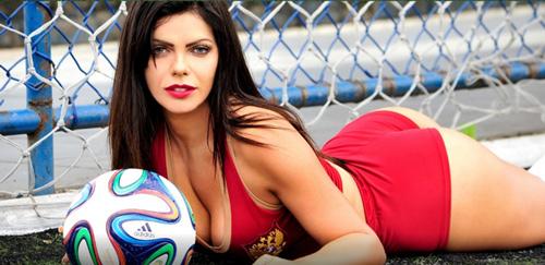 Lộ diện cô gái có vòng 3 gợi cảm nhất Brazil - 6