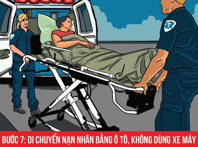 Cần làm gì khi cấp cứu người bị tai nạn giao thông? - 7