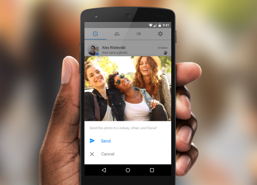 Facebook nhận diện bạn bè bằng ảnh lưu trong smartphone - 1