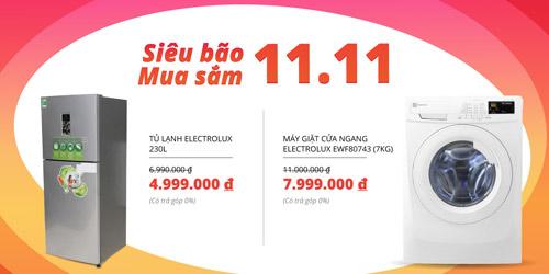 Siêu bão mua sắm đổ bộ Tiki.vn duy nhất hôm nay 11/11 - 2