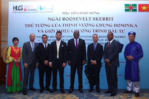 Thủ Tướng Dominica mang đến nhiều cơ hội dành cho các nhà đầu tư Việt - 1