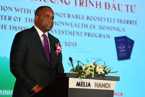 Thủ Tướng Dominica mang đến nhiều cơ hội dành cho các nhà đầu tư Việt - 2