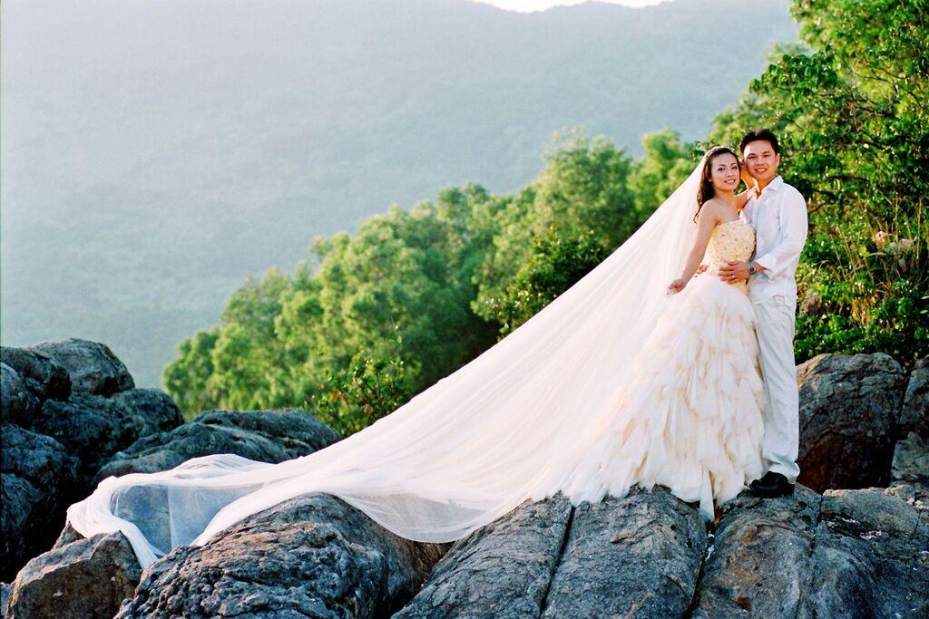 Ảnh cưới lãng mạn ở Mỹ của MC Huyền Ny - 2