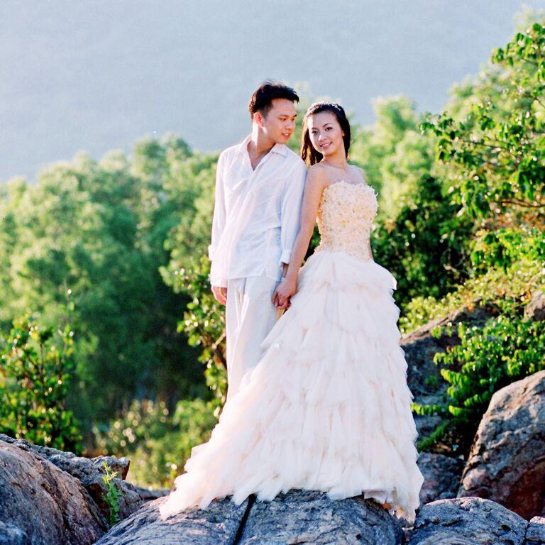 Ảnh cưới lãng mạn ở Mỹ của MC Huyền Ny - 8