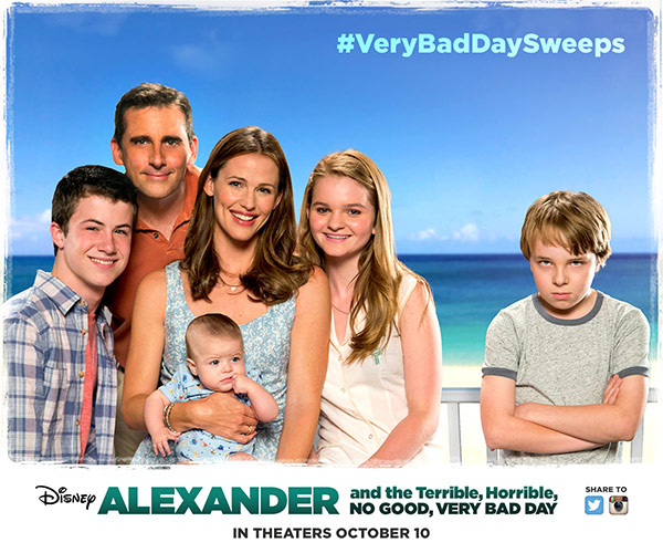 Trailer phim: Alexander and the Terrible, Horrible, No Good, Very Bad Day - 1
