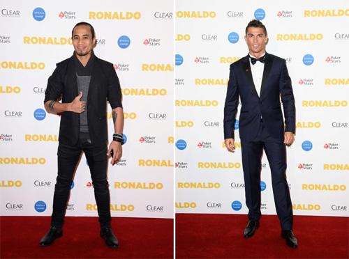 Rocker Phạm Anh Khoa gặp siêu sao Ronaldo tại London - 1