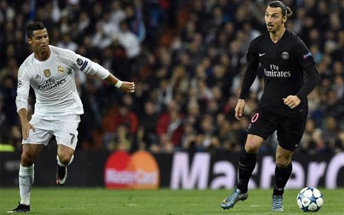 """Chưa đến PSG, Ronaldo đã bị Ibra """"dằn mặt"""" - 1"""