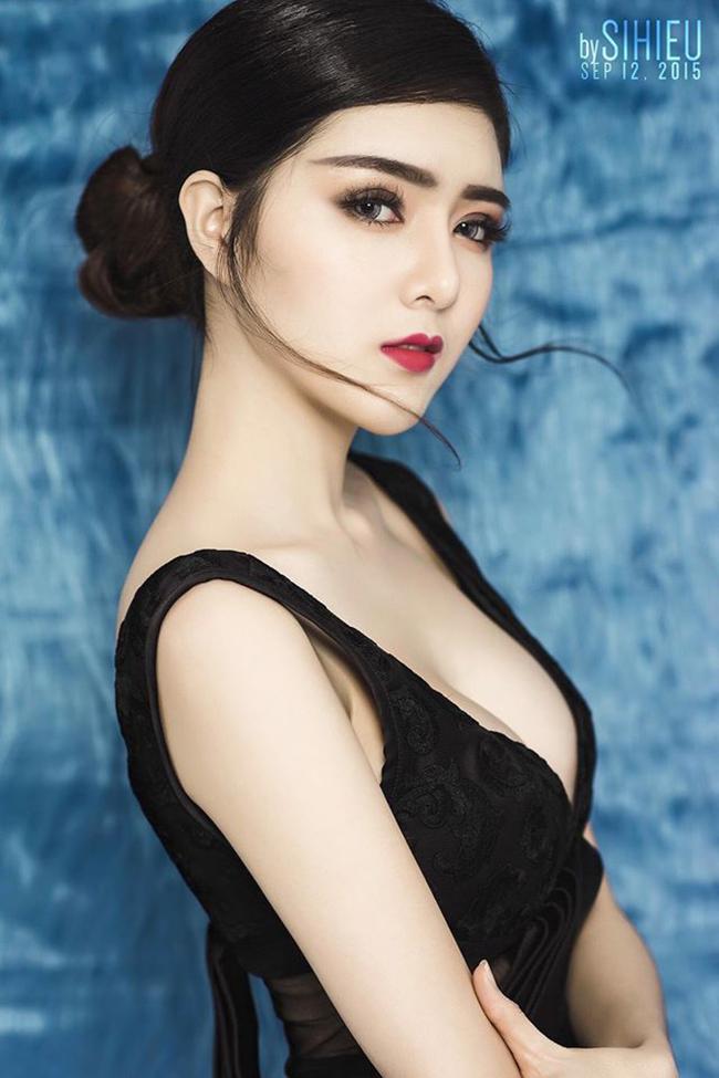 Vốn sở hữu vòng một phẳng, Lilly Luta đã nhờ tới dao kéo để nâng ngực nhằm thay đổi sang hình ảnh sexy và trưởng thành hơn.