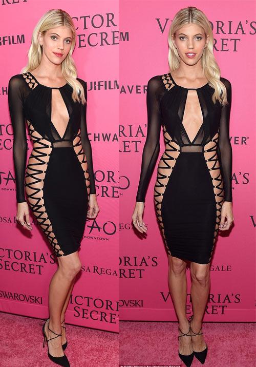 """""""Hot girl Hollywood"""" gây sốc với bộ váy mỏng như không - 10"""