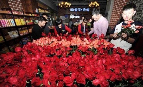 Để thoát kiếp F.A, chàng trai chuẩn bị 1111 bông hoa tỏ tình - 4