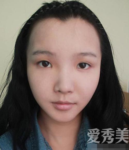 Cô gái mũi tẹt, mí lót xinh như hot girl nhờ son phấn - 2