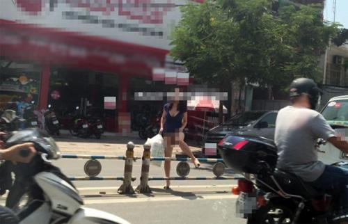 """""""Phát hoảng"""" với trang phục táo bạo của thiếu nữ trên phố - 2"""