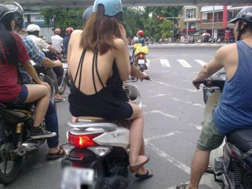 """""""Phát hoảng"""" với trang phục táo bạo của thiếu nữ trên phố - 8"""