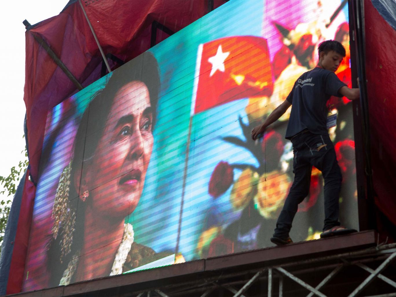 Không thành tổng thống Myanmar, bà Suu Kyi vẫn lãnh đạo đất nước - 1