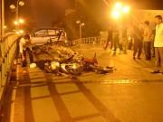 Tin tức trong ngày - Clip: Taxi bị truy đuổi trước khi gây tai nạn liên hoàn
