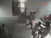 Video An ninh - Thiếu nữ bị kẻ giả làm bạn trai đánh túi bụi ở nhà nghỉ