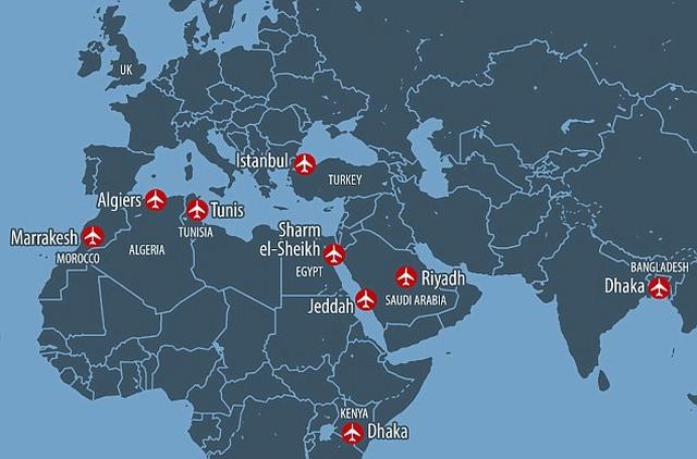 Các sân bay kém an ninh nhất thế giới - 1