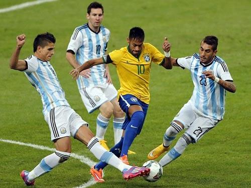 "Argentina – Brazil: ""Sân khấu"" chờ Neymar - 2"