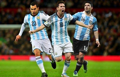 "Argentina – Brazil: ""Sân khấu"" chờ Neymar - 1"