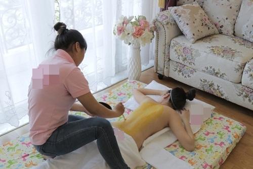 Vợ Đăng Khôi thon thả bất ngờ 1 tháng sau sinh - 5