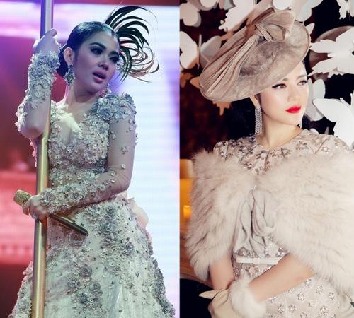 Bất ngờ với nữ ca sĩ Indonesia giống hệt Lý Nhã Kỳ - 4