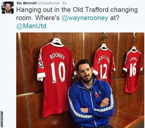 """Đô vật bị tát tới Old Trafford """"tính sổ"""" với Rooney - 1"""