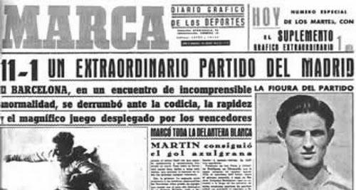 """Tiếng còi """"đen"""" Real-Barca: Khẩu súng lịch sử (P1) - 1"""