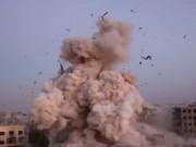 Quân sự - Xem máy bay Nga nã bom chùm hủy diệt căn cứ IS ở Syria