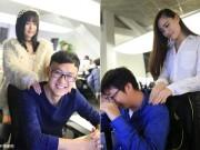 Bạn trẻ - Cuộc sống - Công ty thuê gái trẻ về thư giãn cho nhân viên độc thân