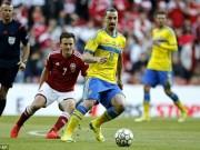 Các giải bóng đá khác - Trước loạt play-off Euro 2016: Gánh nặng trên vai Ibra