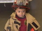 Bạn trẻ - Cuộc sống - Bé 5 tuổi cứu sống bà khỏi hỏa hoạn nhờ khóa học sinh tồn