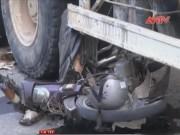 Video An ninh - Bị xe bồn cuốn vào gầm, người phụ nữ thoát chết thần kỳ