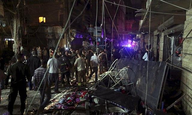 IS đánh bom kép giết chết 43 người ở Li-băng - 1
