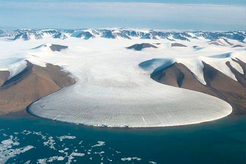 """Vẻ đẹp kỳ thú của """"sông băng chân voi"""" - 1"""