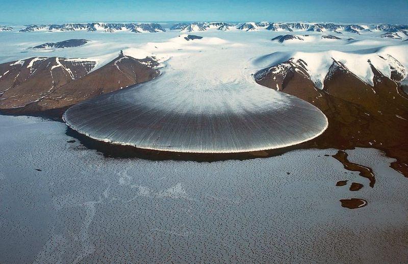 """Vẻ đẹp kỳ thú của """"sông băng chân voi"""" - 3"""