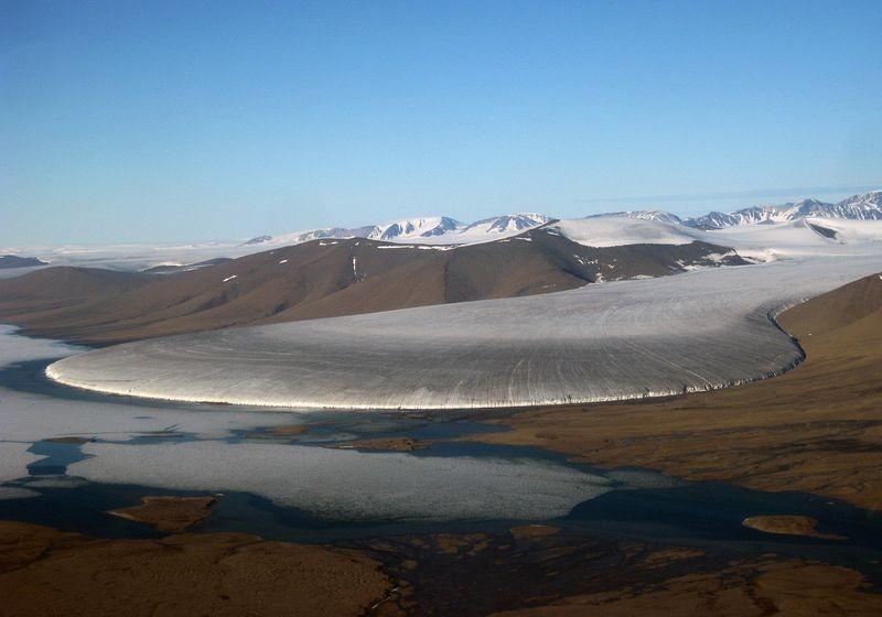 """Vẻ đẹp kỳ thú của """"sông băng chân voi"""" - 2"""