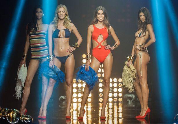 Lộ diện phiên bản khêu gợi của show Victoria's Secret - 1